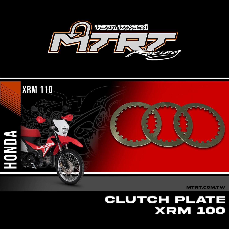 CLUTCH PLATE  XRM  WAVE100 XRM110 4pcs  MTRT