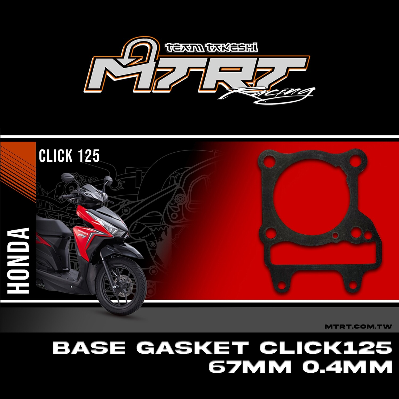 BASE GASKET CLICK125/CLICK150 67MM 0.4MM