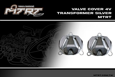 4V VALVE COVER 4V Transformer SILVER MTRT