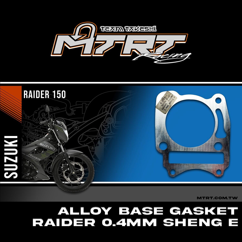 Alloy Base Gasket  Raider  0.4mm Sheng-E