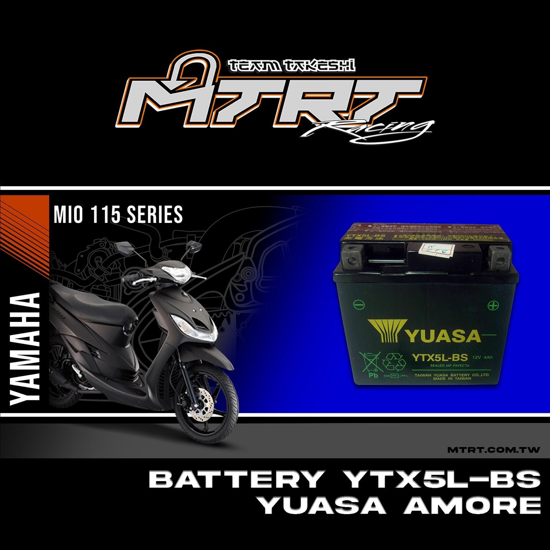BATTERY  YTX5L-BS YUASA Amore,Raider,STEP
