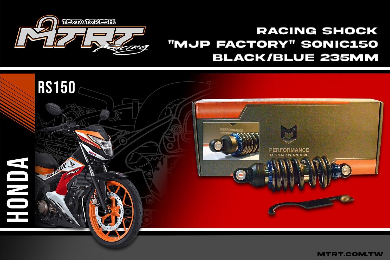 RACING SHOCK MJP Factory SONIC150 Black Blue 235MM