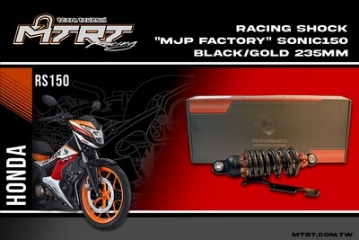 RACING SHOCK MJP Factory SONIC150 Black GOLD 235MM
