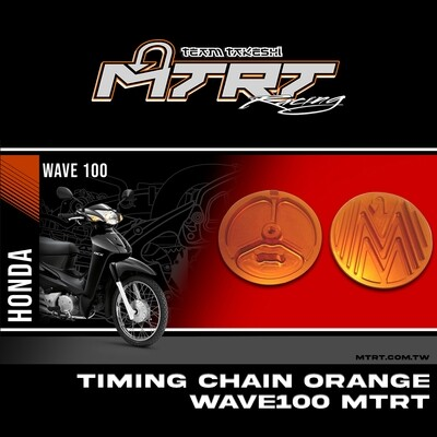 TIMING CHAIN ORANGE WAVE100 MTRT