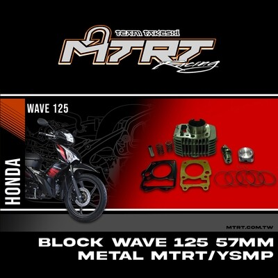 BLOCK Wave125  57MM Metal MTRT YSMP Main