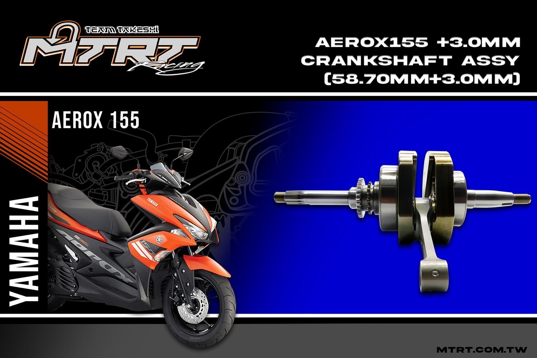 RACING CRANKSHAFT ASSY AEROX155 CNC (58.7+3.00MM)