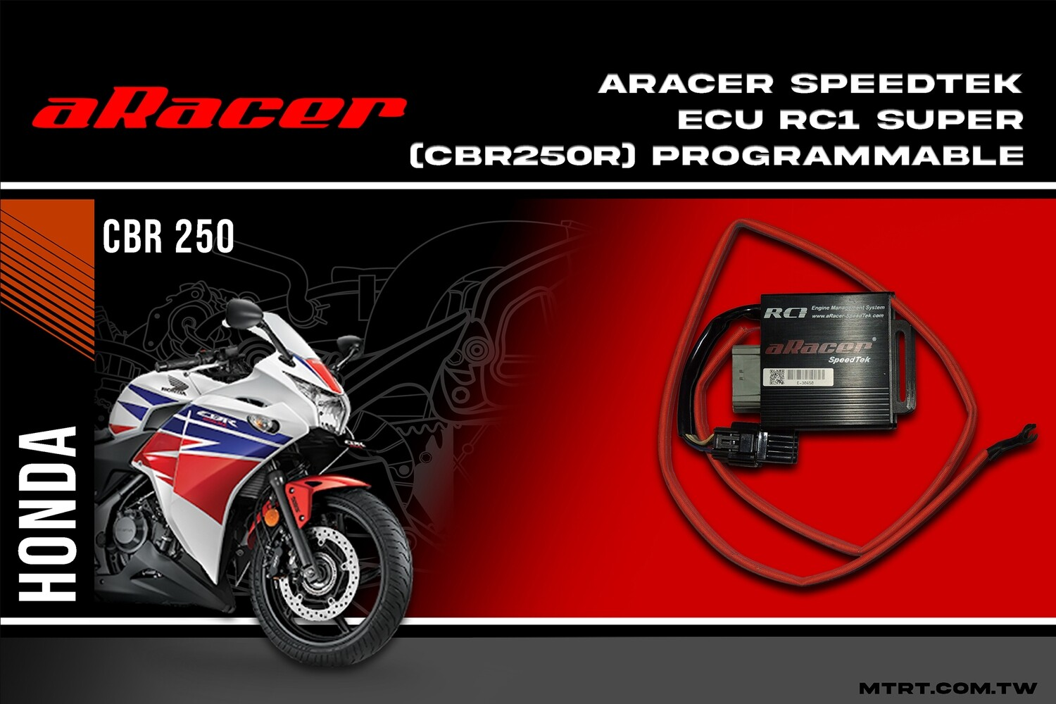 ARACER speedtek ECU RC1 SUPER (CBR250R) programmable 62517