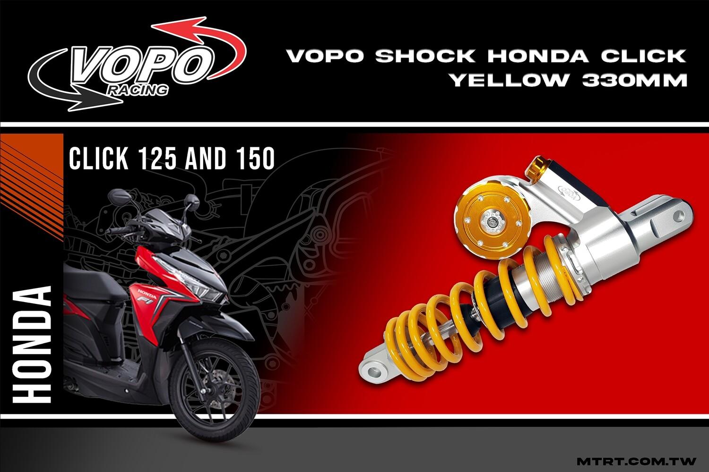 VOPO SHOCK HONDA CLICK YELLOW 330MM