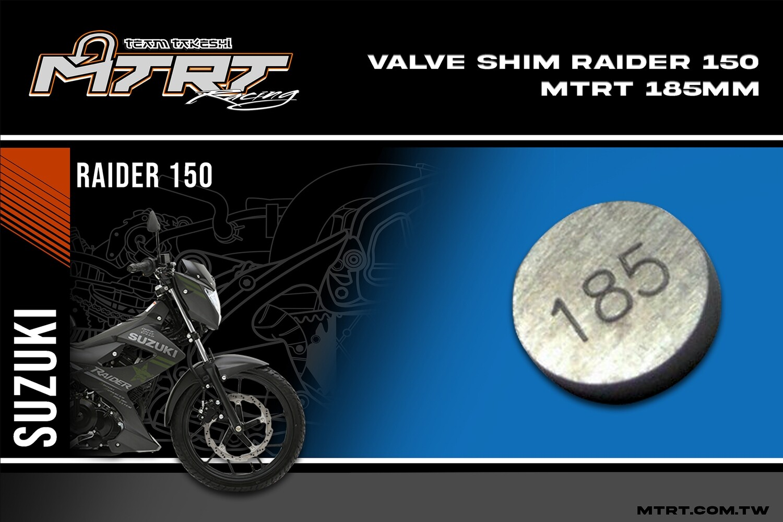 VALVE SHIM RAIDER150CBR MTRT 185mm