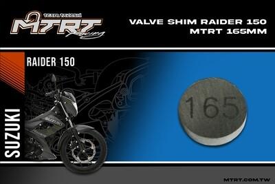 VALVE SHIM RAIDER150CBR MTRT 165mm M-Op1