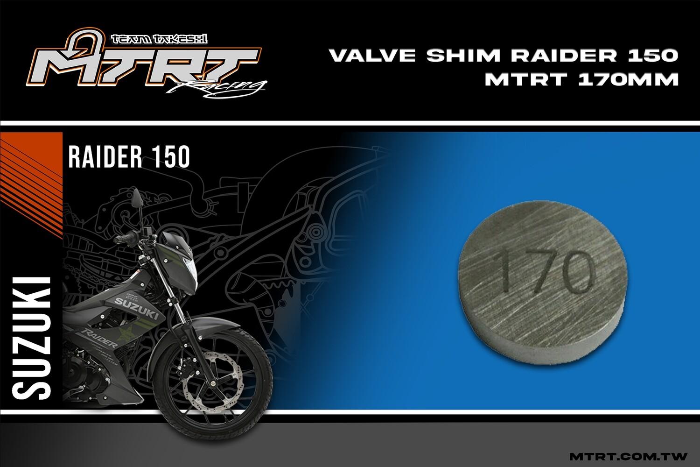 VALVE SHIM RAIDER150CBR MTRT 170mm M-Op1