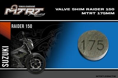 VALVE SHIM RAIDER150CBR MTRT 175mm