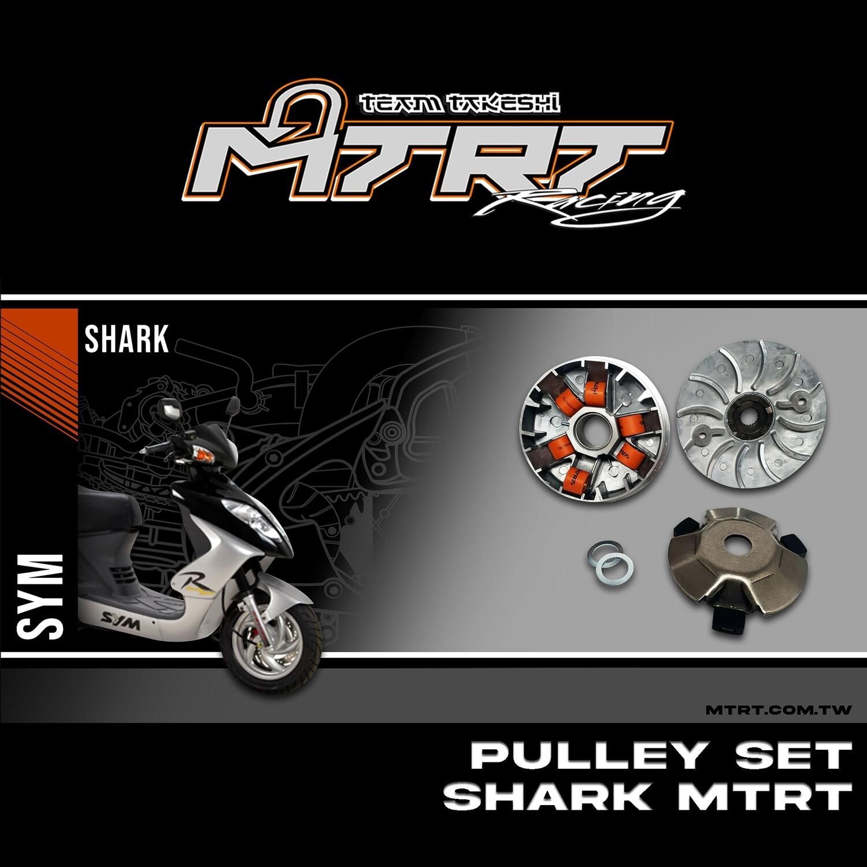 PULLEY SET MTRT SHARK