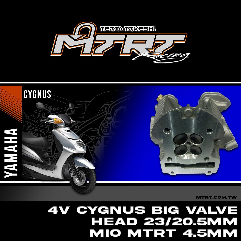 4V Cygnus BIG VALVE HEAd  23/20.5MM  MIO MTRT 4.5mm  valve spring only