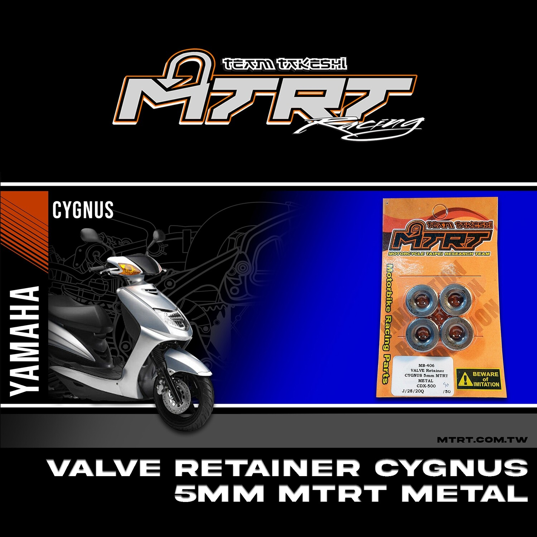VALVE Retainer  CYGNUS 5mm MTRT METAL