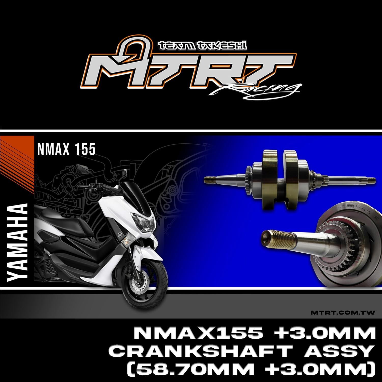 RACING CRANKSHAFT ASSY NMAX155 CNC (58.7+3.00MM)