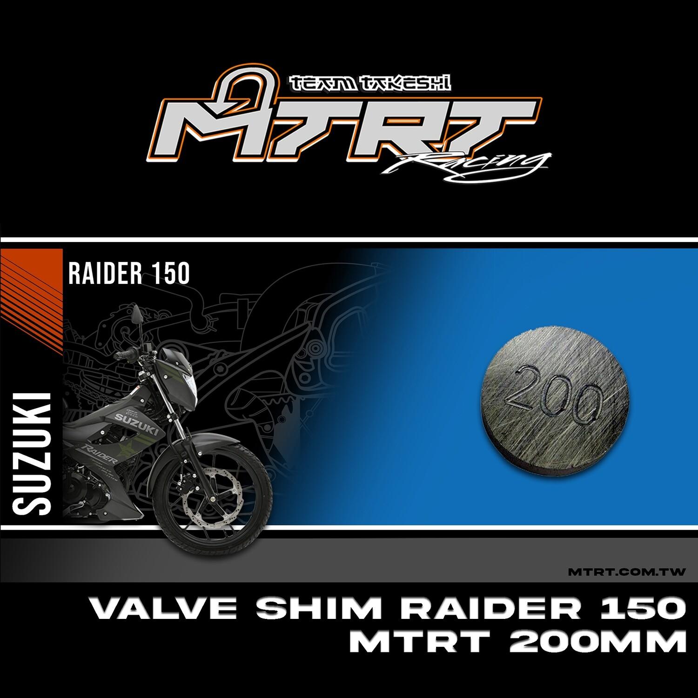 VALVE SHIM RAIDER150CBR MTRT 200mm M-Op1