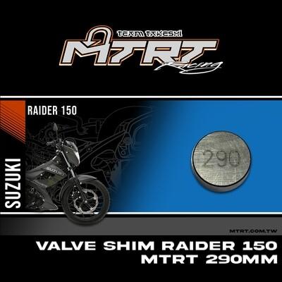 VALVE SHIM RAIDER150CBR MTRT 290mm M-Op1