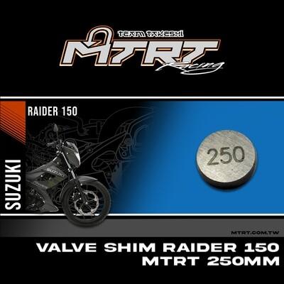 VALVE SHIM RAIDER150CBR MTRT 250mm M-Op1