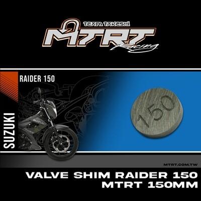 VALVE SHIM RAIDER150CBR MTRT 150mm