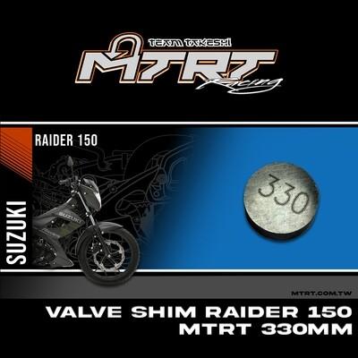 VALVE SHIM RAIDER150CBR MTRT 330mm M-Op1