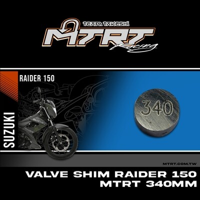 VALVE SHIM RAIDER150CBR MTRT 340mm M-Op1