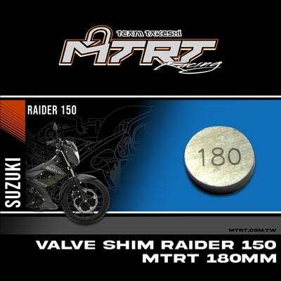 VALVE SHIM RAIDER150CBR MTRT 180mm M-Op1