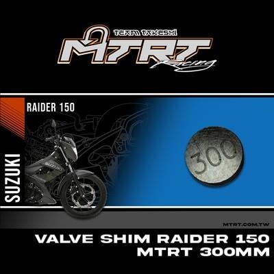 VALVE SHIM RAIDER150CBR MTRT 300mm M-Op1