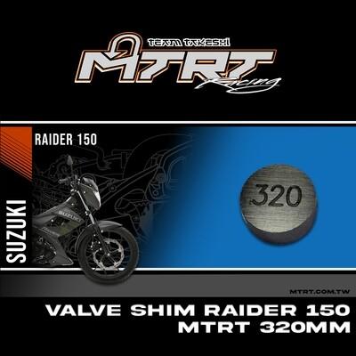 VALVE SHIM RAIDER150CBR MTRT 320mm M-Op1