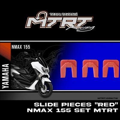 """SLIDE PIECES """"RED""""  NMAX155/AEROX155 SET MTRT"""