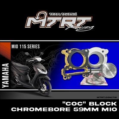 """""""COC"""" BLOCK Chromebore 59MM MIO"""