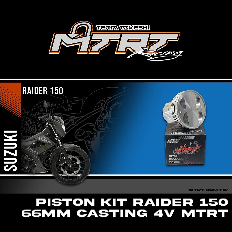 PISTON  KIT RAIDER150 66MM CASTING 4V MTRT