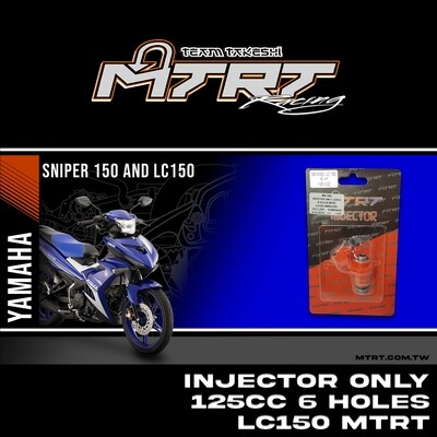 INJECTOR ONLY 125CC 6HOLES  LC150/NMAX155/MXI  MTRT