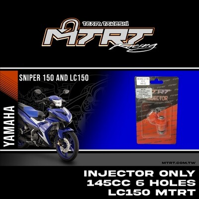INJECTOR ONLY 145CC 6HOLES  LC150/NMAX155/MXI MTRT