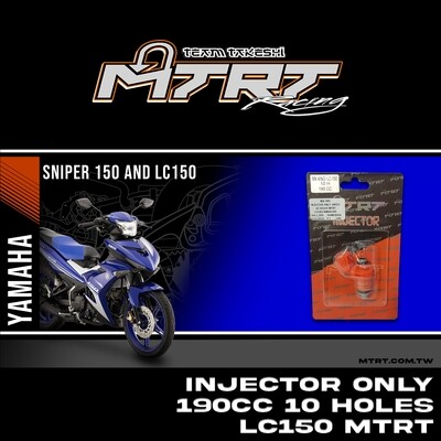 INJECTOR ONLY 190CC 10Holes  LC150/NMAX155/MXI   MTRT