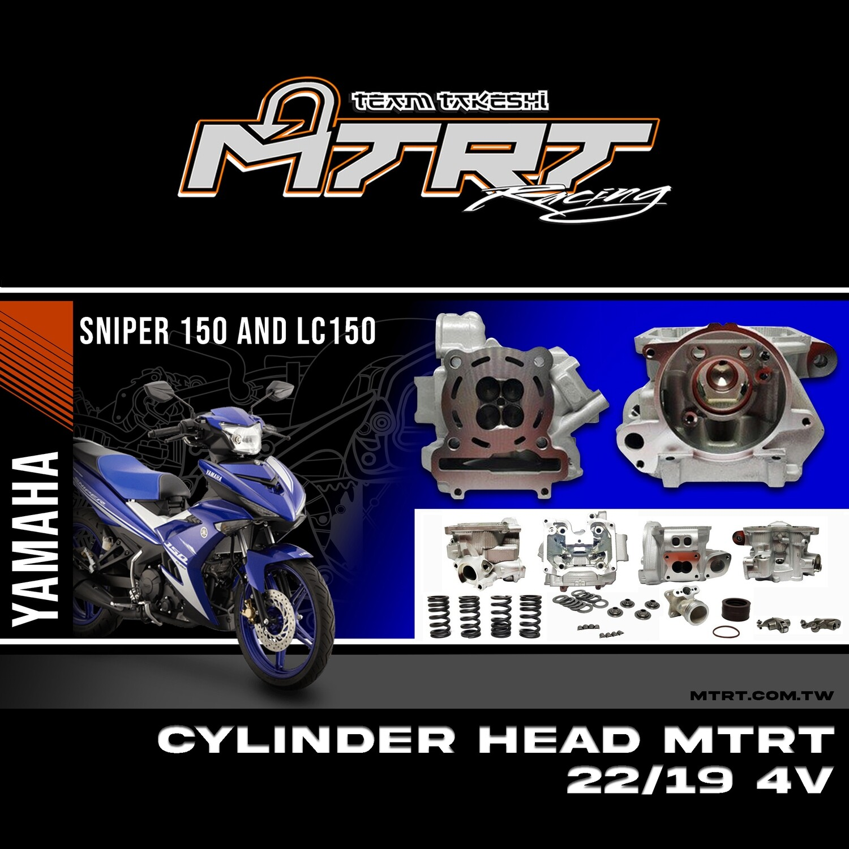 CYLINDER HEAD SNIPER150 22/25MM MTRT