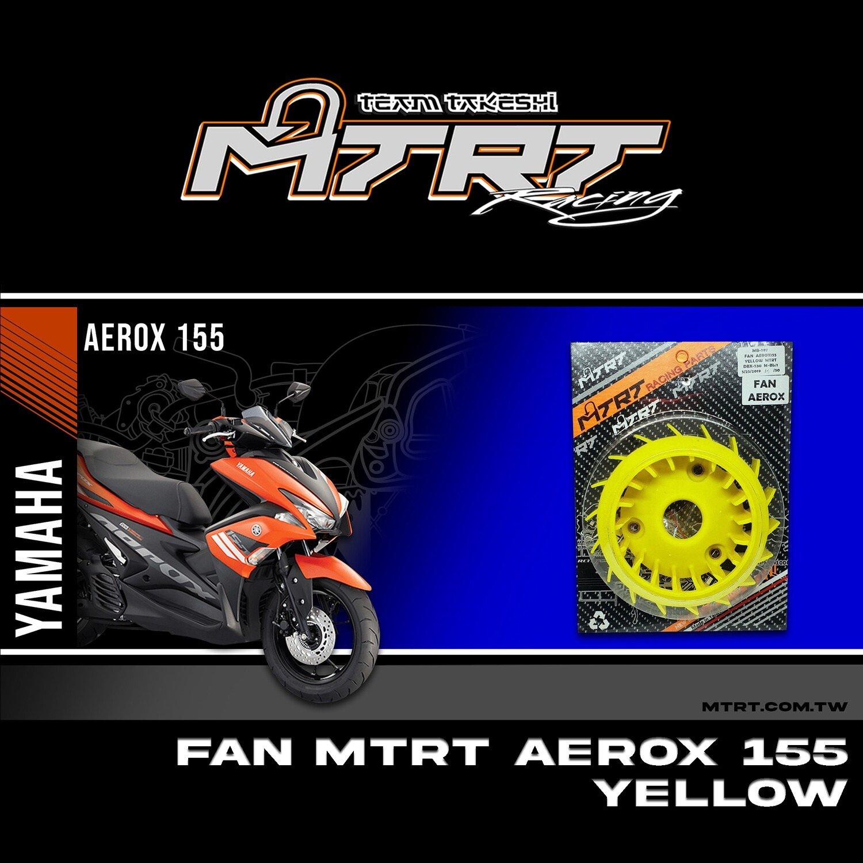 FAN AEROX155 NMAX155  YELLOW MTRT