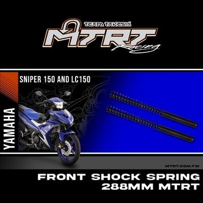 MTRT FRONT SHOCK SPRING SNIPER 288MM