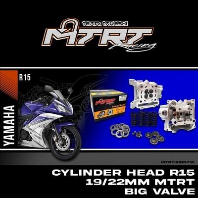 CYL. HEAD R15 19/22MM MTRT big valve