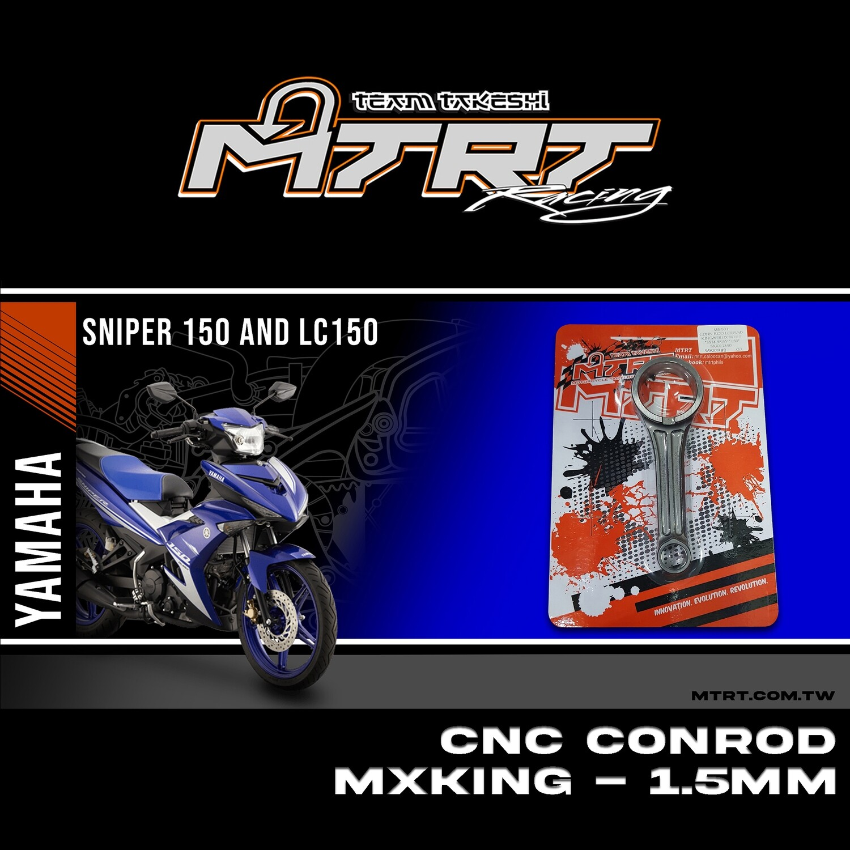 CONN ROD MXKING/SNIPER150 CNC -1.5MM MTRT  35*14*98.5