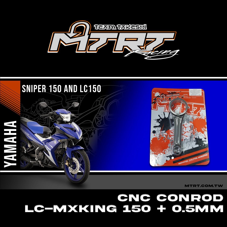 CONN ROD MXKING/SNIPER150  CNC+0.5MM MTRT  35*14*100.5