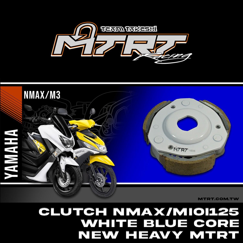 CLUTCH NMAX-SMAX-MIOi125 WHITE  blue core HEAVY MTRT
