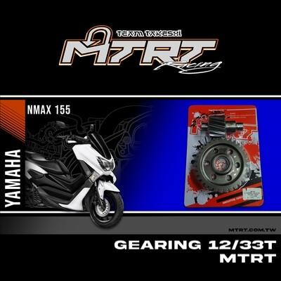 GEARING  NMAX155  12T-33T