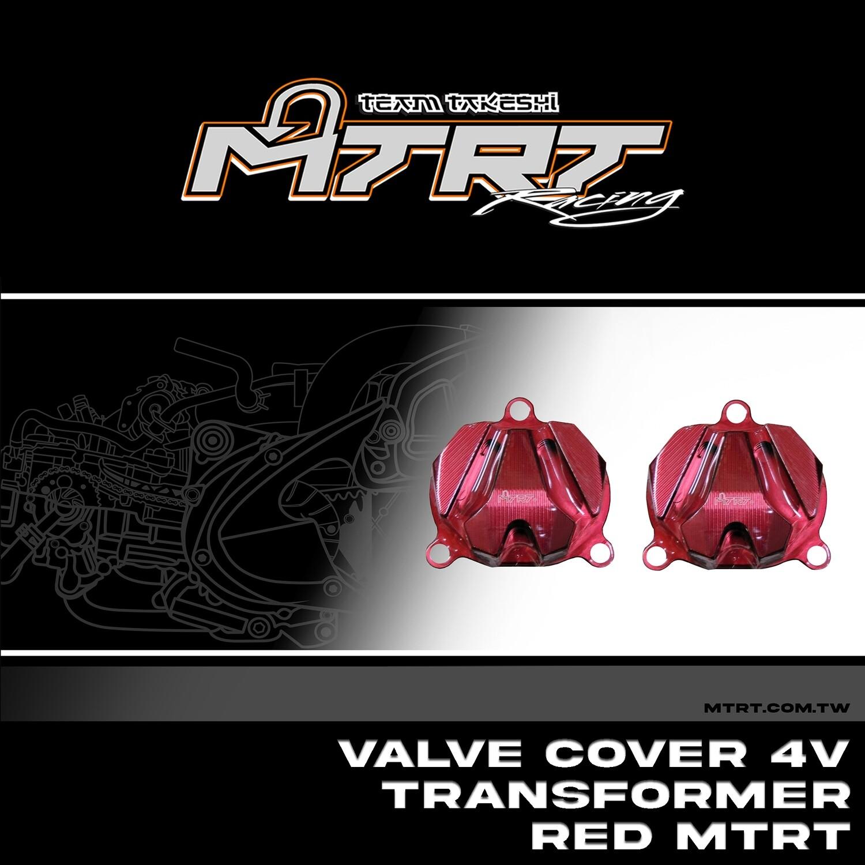 VALVE COVER 4V Transformer RED MTRT