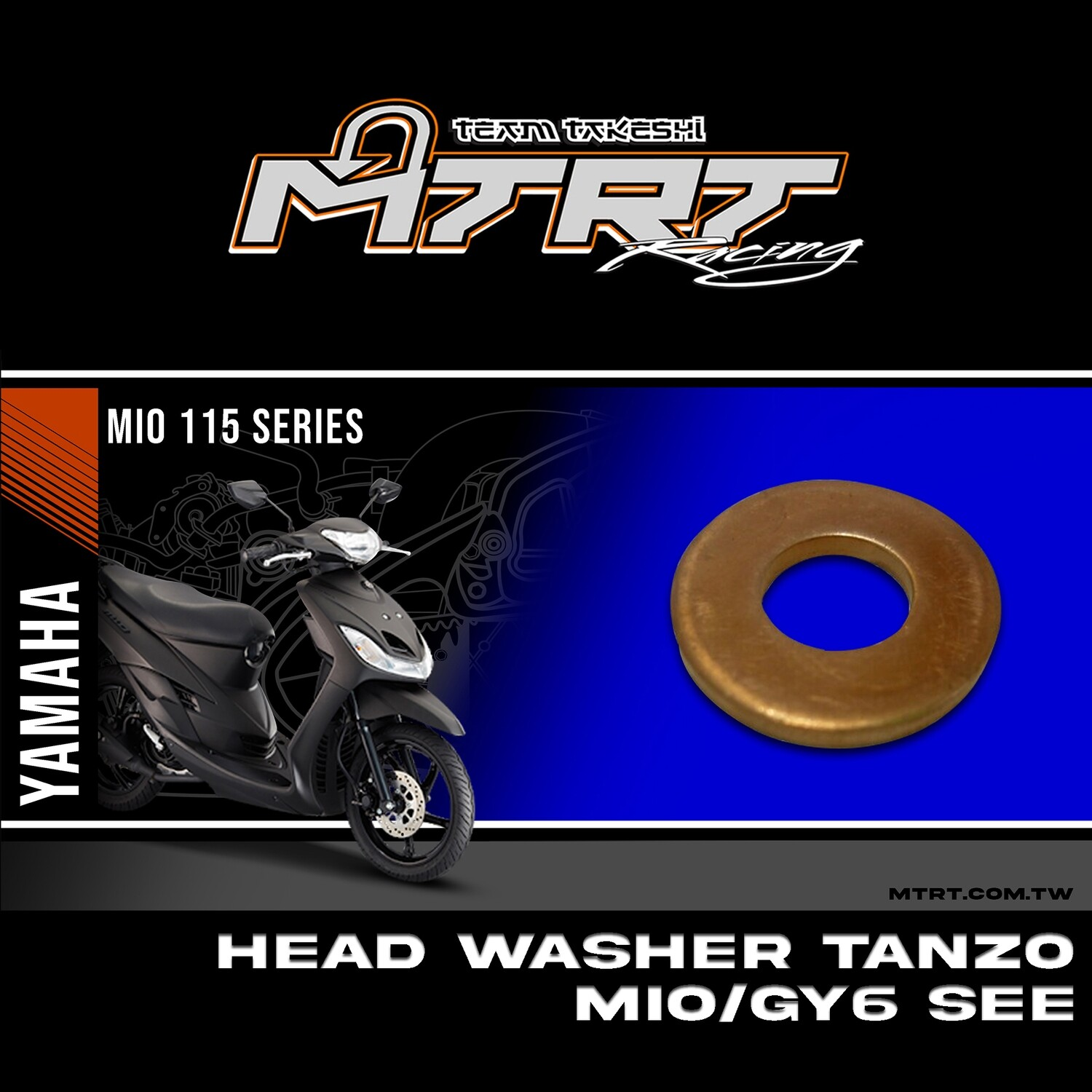 HEAD WASHER TANZO  MIO/GY6 SEE