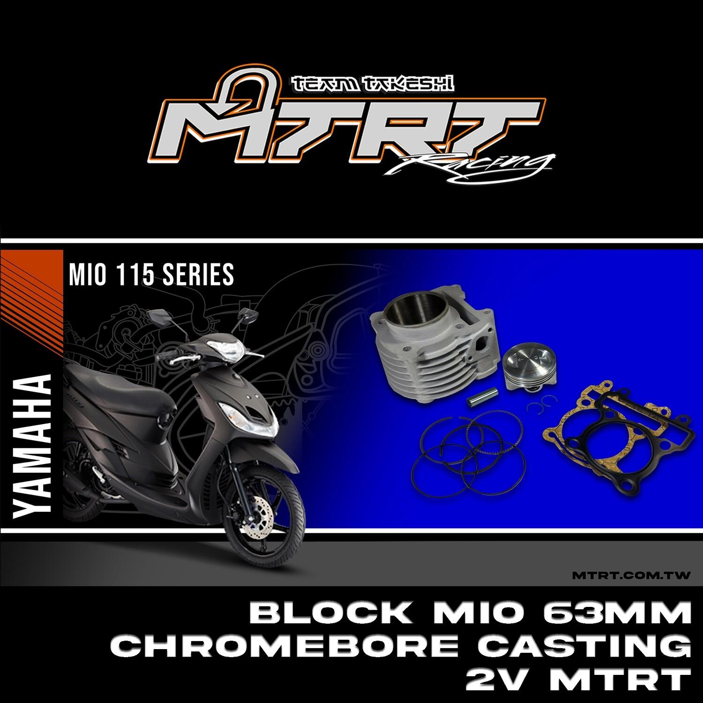 BLOCK MIO 63MM Chromebore CASTING 2V MTRT