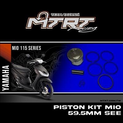 PISTON KIT  MIO 59.5MM SEE