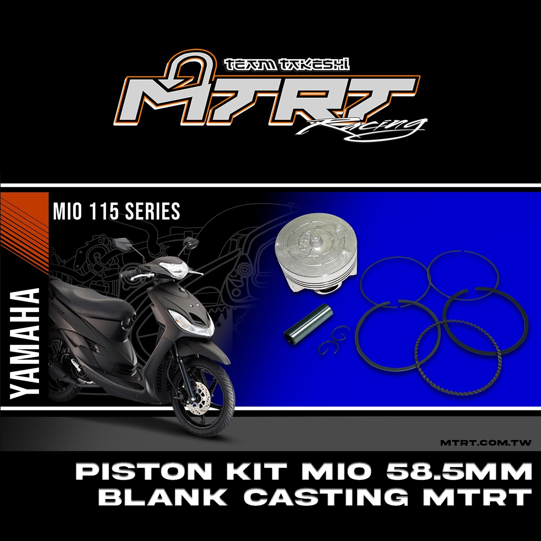 PISTON  KIT  MIO 58.5MM BLANK Casting   MTRT