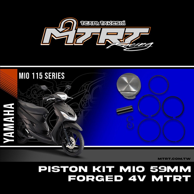 PISTON  KIT  MIO 59MM FORGED 4V MTRT