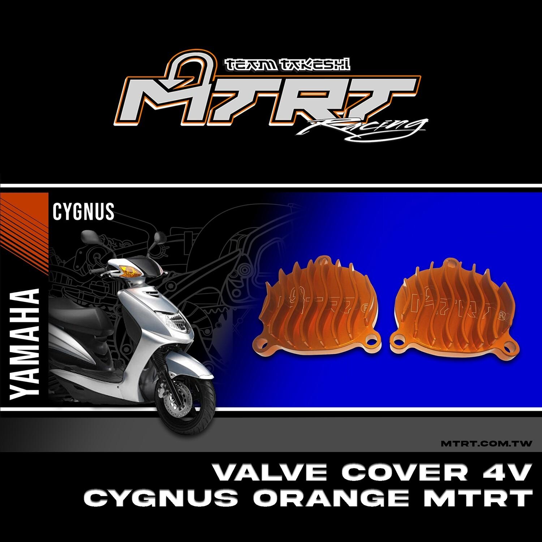 VALVE COVER  4V Cygnus orange mtrt